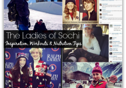 The Ladies of Sochi 2014: Inspiration, Fave Workout Moves + Nutrition Tips