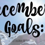 December Goals: Fitness, Financial, Blogging + Personal