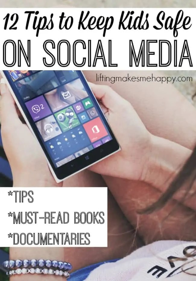 Tips to Keep Your Child Safe On Social Media - via liftingmakesmehappy.com