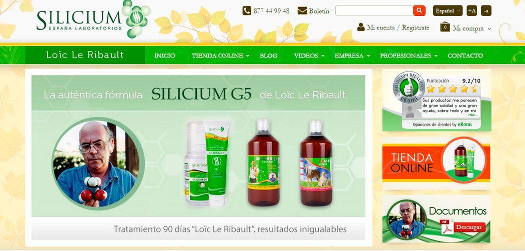 silicium-web