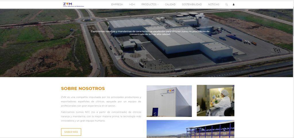 zuvamesa nueva web citricos