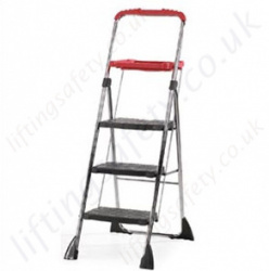 Professional Use Chrome Plated Steel Folding Steps with