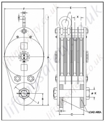 Crosby McKissick 680 Series Construction Crane Sheave