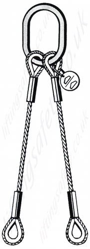 Wire Rope Lifting Slings Built to Customers Specification
