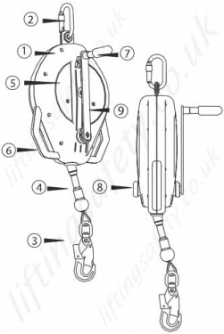 B Drum Harness, B, Free Engine Image For User Manual Download