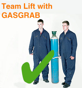 Team Lift with GasGrab