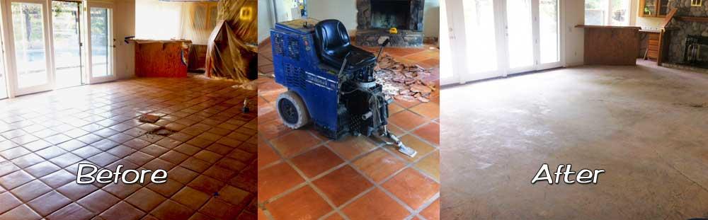 fast old floor removal polishing shot blasting concrete diamond grinding