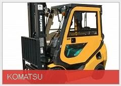 Komatsu Harris Cab