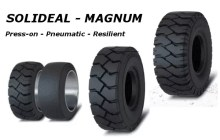 Pneumatic Resilient Press-on Tires