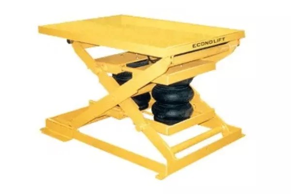 Econo Lift Air Bag Lift Table