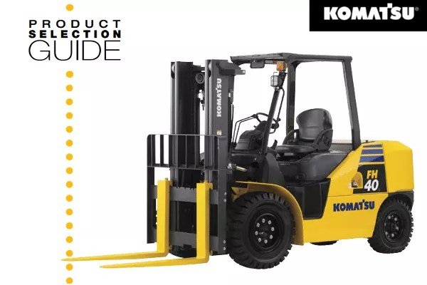 Komatsu Product Selection Guide