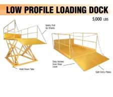 low profile loading dock