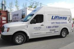 Liftway Forklift Service Van
