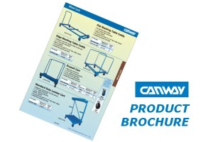 Canway wheel cart brochure
