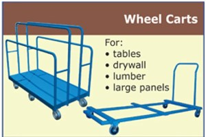 Canway wheel carts and caddies
