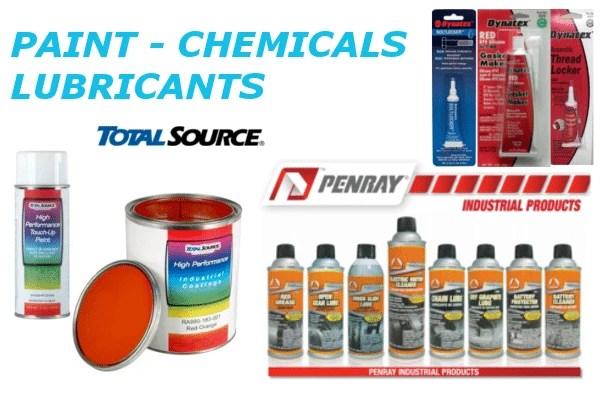 Paint Lubricants Chemicals