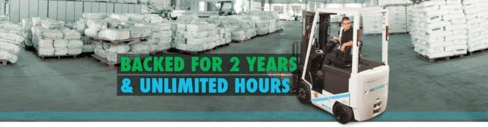 Unicarriers Forklift warranty