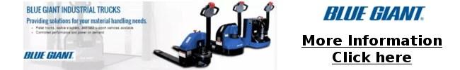Blue Giant Material Handling equipment