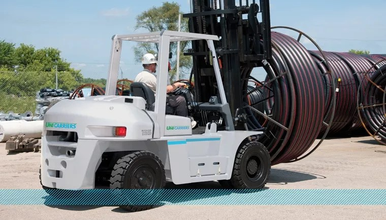 Unicarriers G06 series Pneumatic Tire Forklift