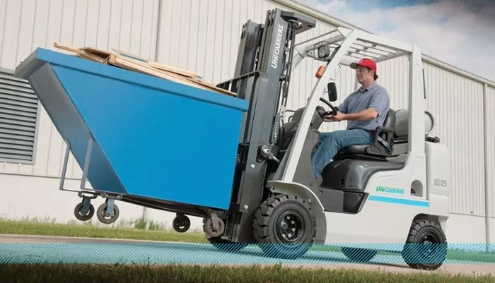 Unicarriers Platinum II Pneumatic Tire Forklift