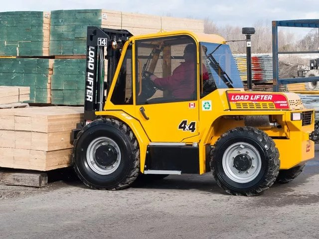 Load Lifter Laborer All Terrain Forklift