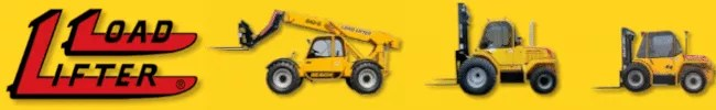 Load Lifter - Rough Terrain Forklifts - Boom Reach Forklifts