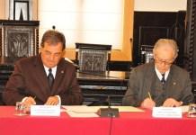 Assinatura de Protocolo de Cedência de Terren