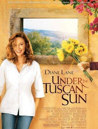 Sob o Sol da Toscana - under the tuscan sun - Filmes para viajar (Indicamos onde assistir no Netflix)