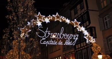 Feira de Natal Strasbourg França