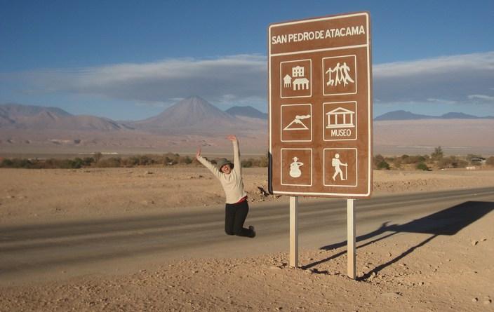 San Pedro de Atacama, o Licancabur e eu