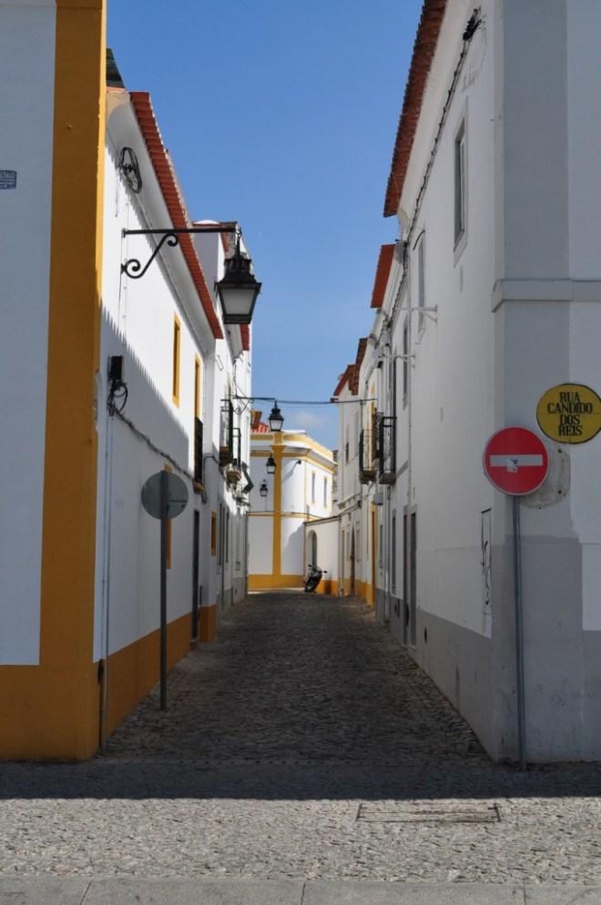 Évora Portugal - Labirinto de ruas