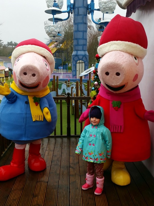 Parque da Peppa Pig (Peppa Pig World) - Encontro