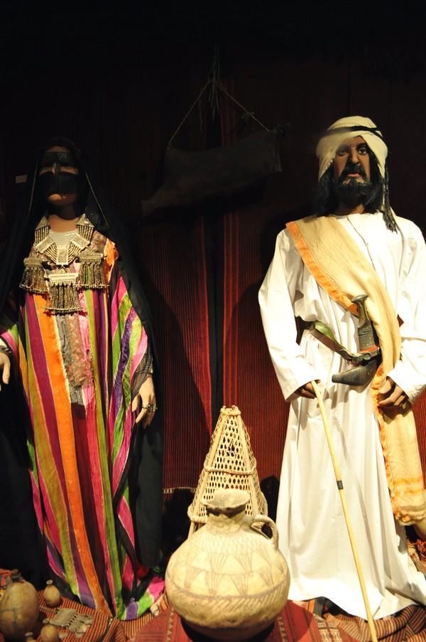 Dubai de graça - Réplica de casamento tradicional no Dubai Museum