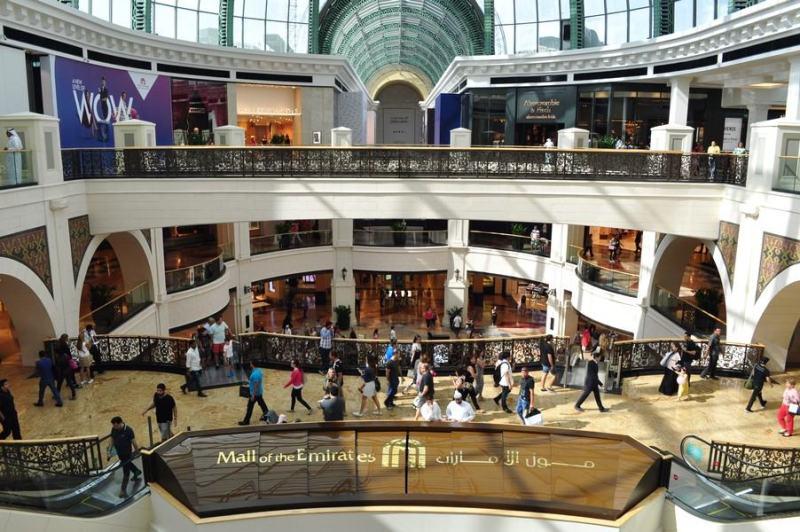 Dubai de graça - Tudo muito grande no Mall of the Emirates