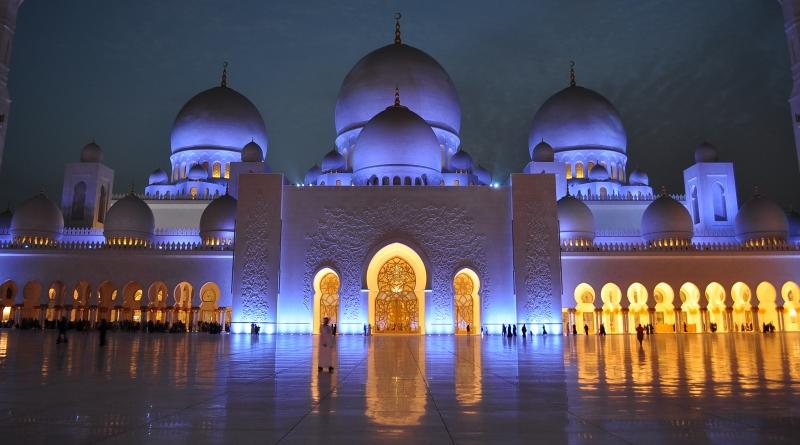 Abu Dhabi nos Emirados Árabes Únidos