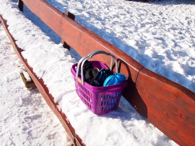 Dobel na Alemanha - Piquenique na neve (!?)