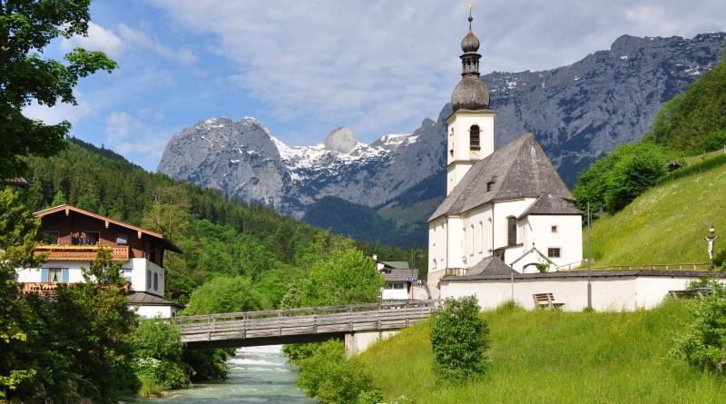 Berchtesgadener Land, Região da Baviera no sul da Alemanha