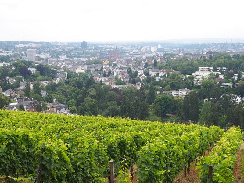 Wiesbaden na Alemanha - Mirante e vista da cidade