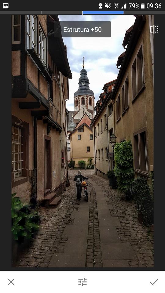 snapseed fotos viagem instagram - Ferramenta Estrutura