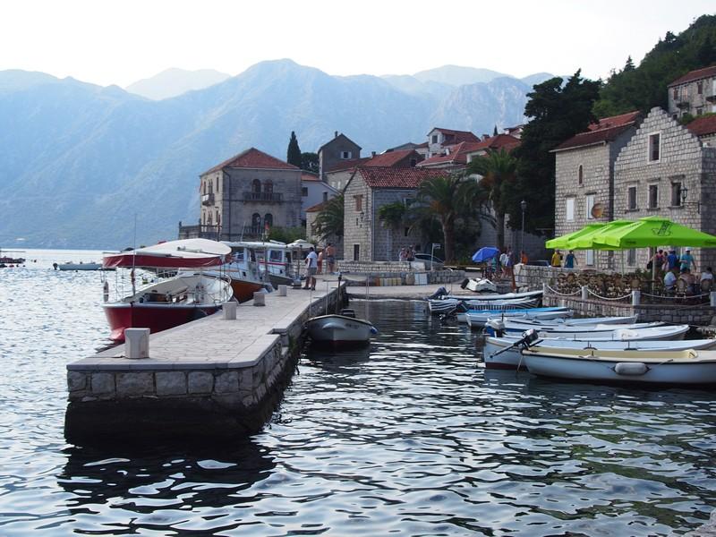 Perast Montenegro - Passeando pela cidade litorânea