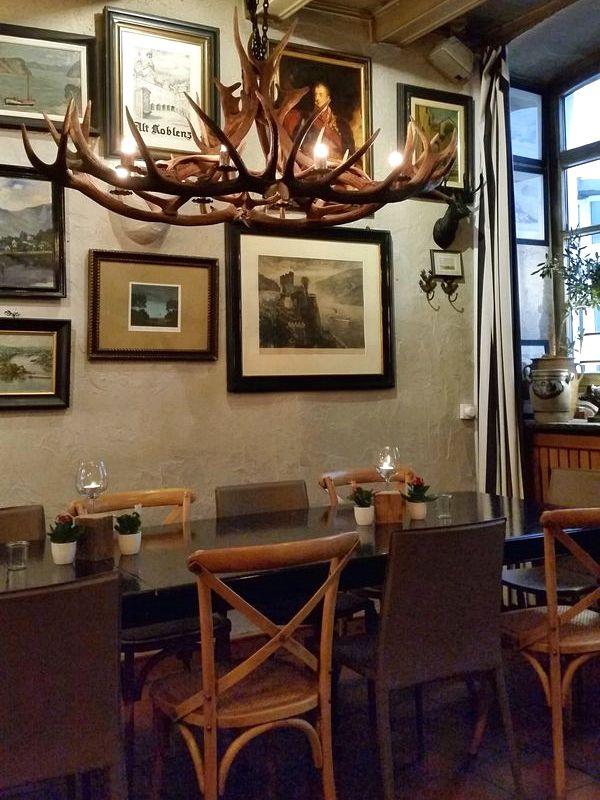 Koblenz Alemanha - Restaurante Alt Coblenz