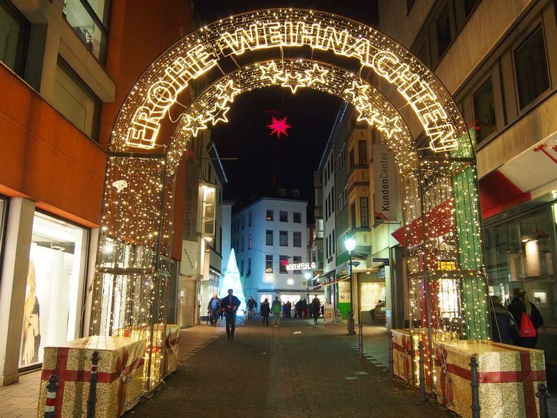 Koblenz Alemanha - Mercado de Natal (Weihnachtsmarkt)