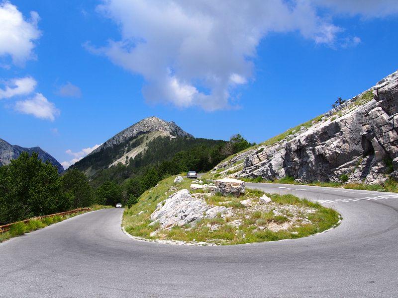Parque Nacional de Lovcen Montenegro - Estrada Antiga para o Parque