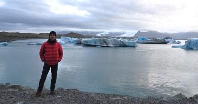 islandia myrdalsjokull fjadrargljufur jokulsarlon sol da meia-noite