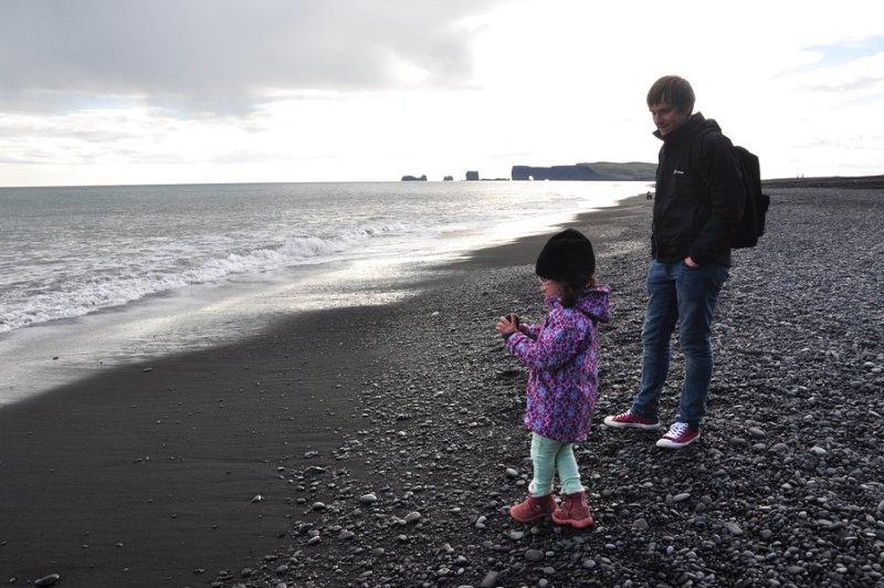 viagem islandia reynisfjara - praia da areia preta