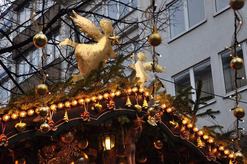 Mercado de Natal Pforzheim Alemanha - Lojas lindas