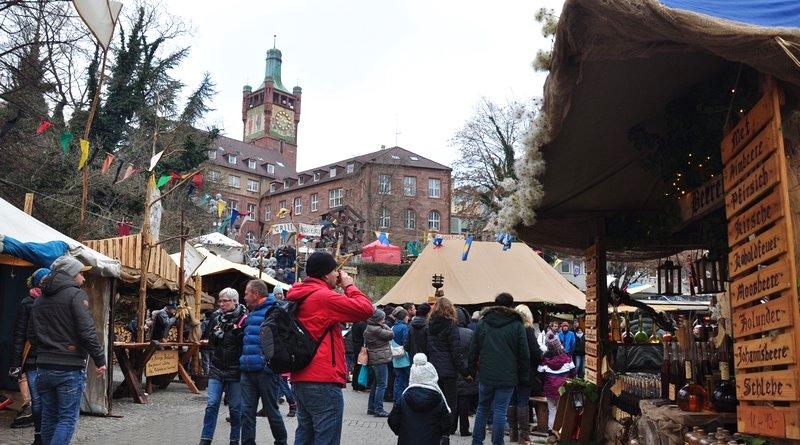 Mercado de Natal Pforzheim Alemanha