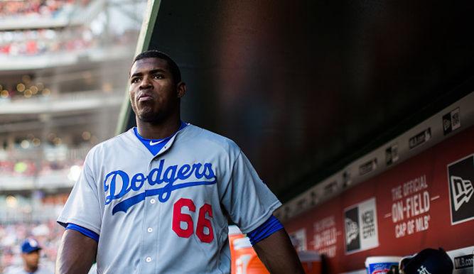 Yasiel Puig sería reclamado de la lista de waivers de Dodgers