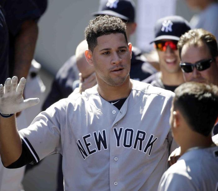 Gary Sánchez aterroriza a los lanzadores de la Liga Americana