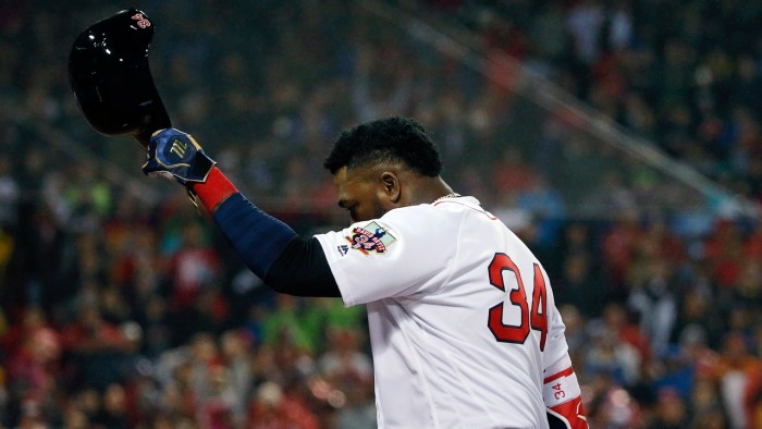 VIDEO: David Ortiz se despide de la temporada regular